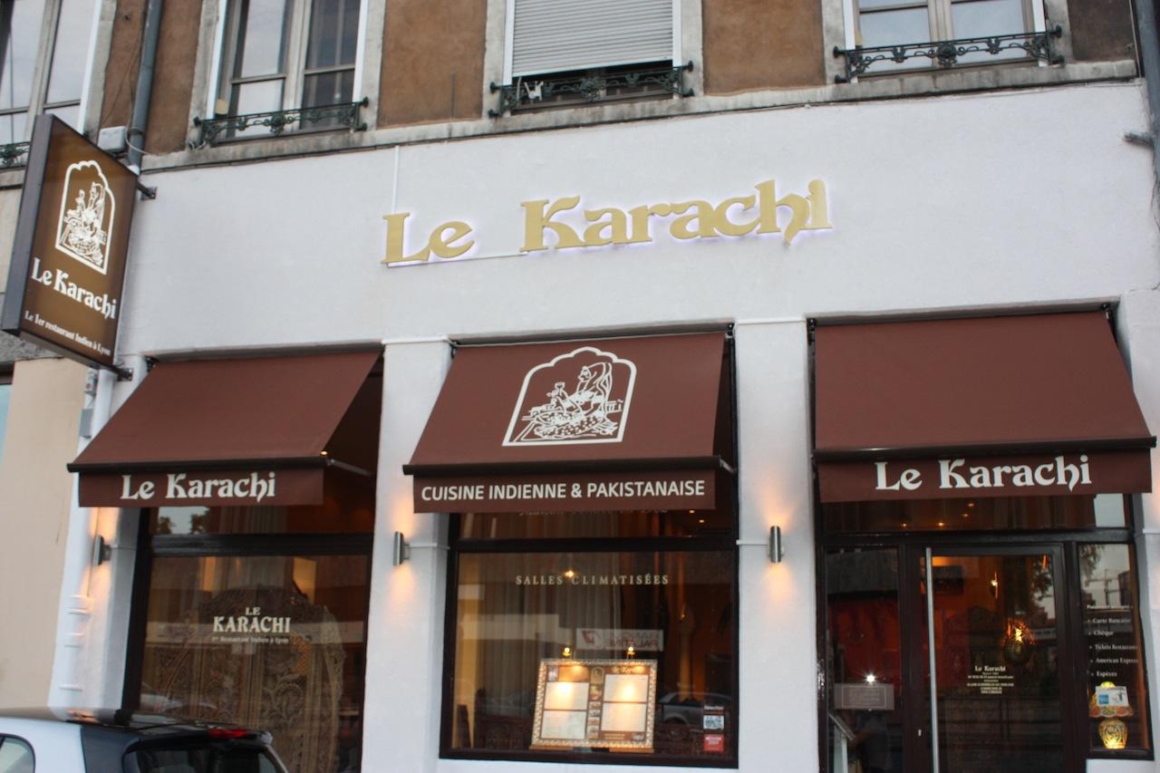 Restaurant Lyon Le Karachi