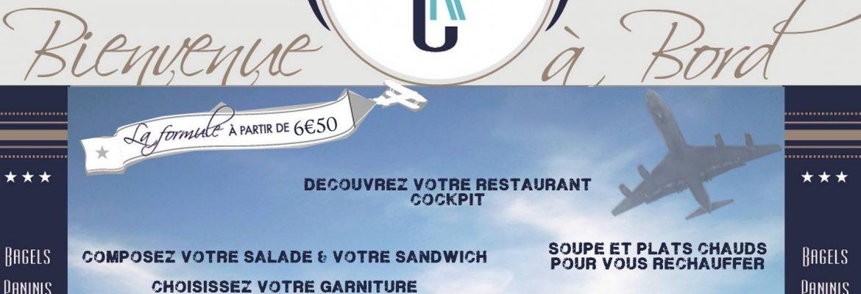 Cockpit – Bar à Salade – Sandwich / Panini