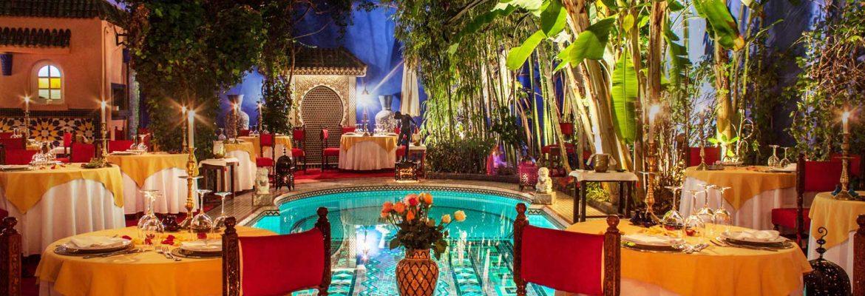 Restaurant riad Marrakech