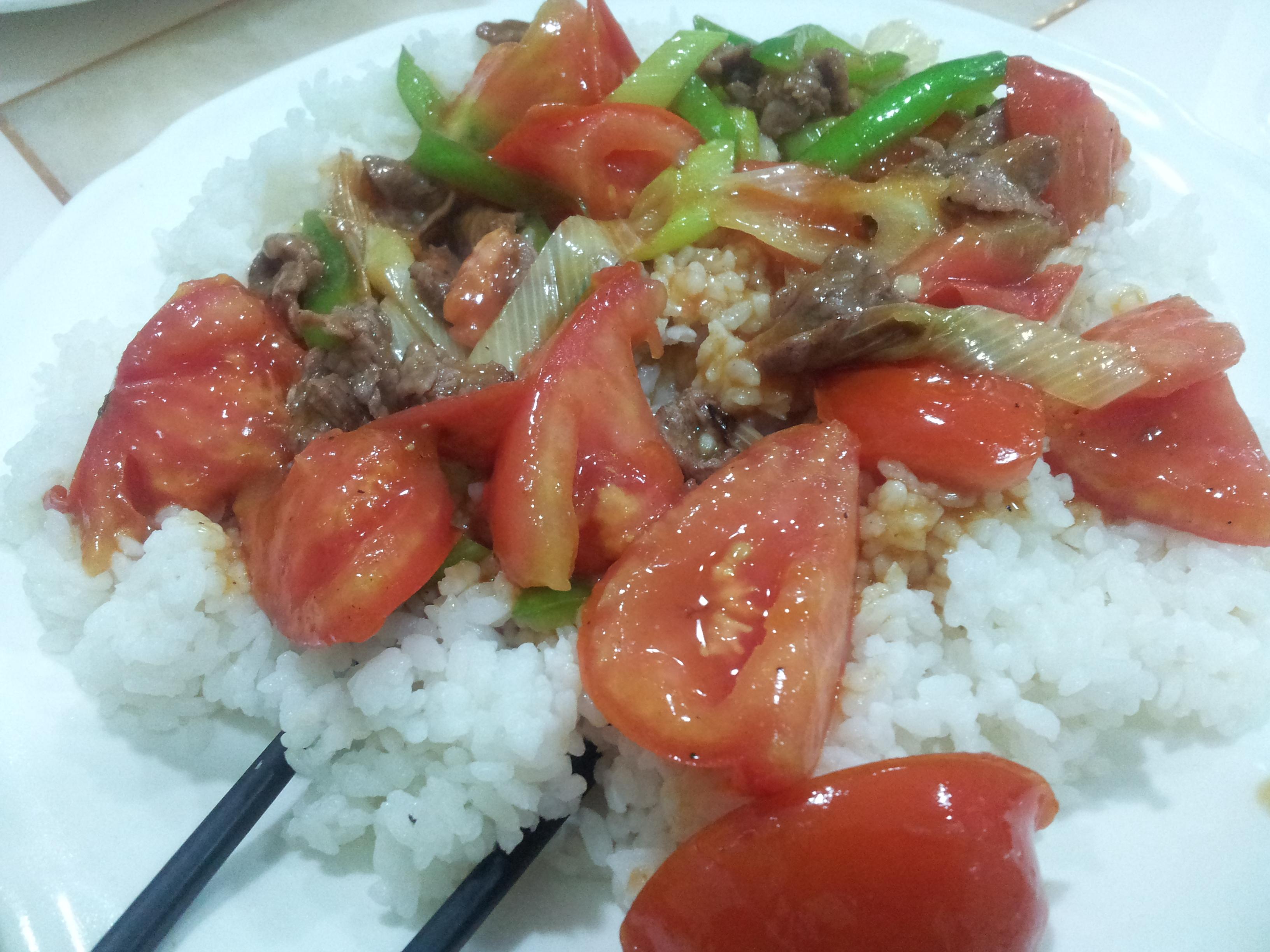 riz à la tomate