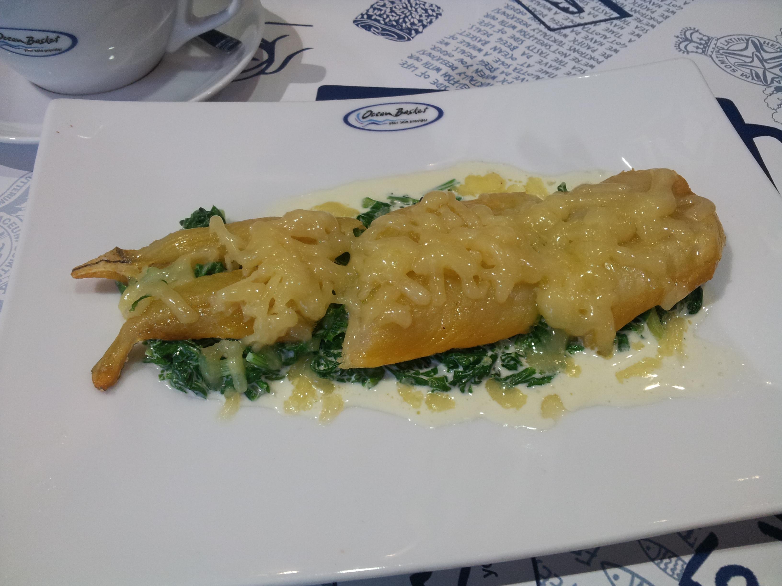 poisson à la florentine