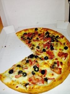 pizza calabreze halal