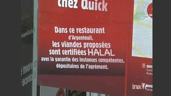 Polémique autour des hamburgers halal de Quick