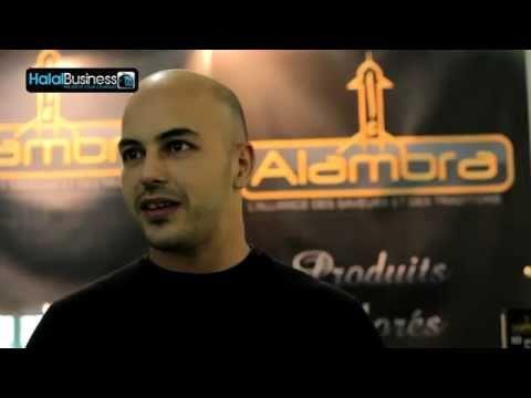 Alambra surgelés au Paris Halal Expo 2011